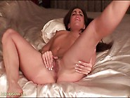Pink Milf Pussy With Pubic Hair Fucks A Toy