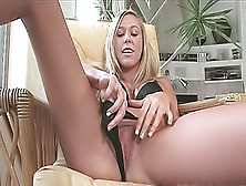 Blonde On Holiday Ends Up Exposing Her Goodies