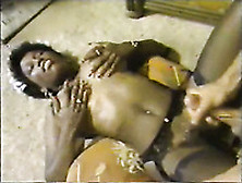 Two Perverted Black Maids Suck Their White Boss' Cock