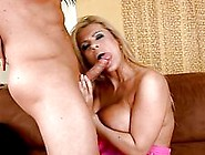 Sluty Blonde Mom With Large Puppies Taking Younger Cock Doggy St