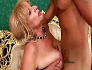 Horn Made Fat Mom In Playful Stockings Gets Fucked Missionary By