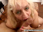 Plump Mature Mom Sucking Cock