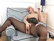 Mom Tears Off Her Stockings And Masturbates