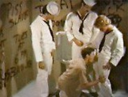 Vintage Sailor Toilet Gangbang