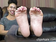 Sexy Ebony Soles Interview