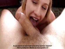 Amateur Zoey Self Confessed Blonde Nympho Admits To Loving Rim J