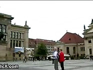 Bound Euro Babe Tina Martinez Fucked On The Streets