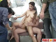 Fucked In Subway Orgy