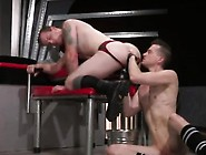 Senior Couple Fist Anal Gay Porn Movie Tatted Ultra-Cutie Br