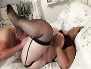A Mature Fat Womans Pussy Is Licked Then Fucked