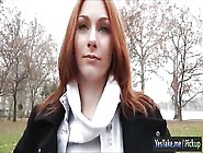 Russian Redhead Alice Marshall Screwed In Exchange For Cash