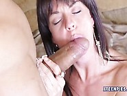Rahyndee James Pussy Filled With Hot Cum