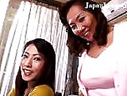 Sexy Japanese Babes In A Kinky Lesbian Threesome By