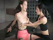 Sex-Slave Emma Gets Her Nipples Pumped