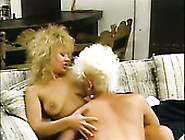 Naughty Lesbian Girlfriends Love To Please Each Other On A Couch