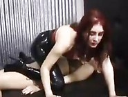 Smoking Femdom Abusing Her Bad Slave