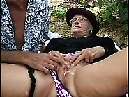 Mature Widow Uses Fucking Outside As A Way To Deal With Her Grie