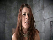 Red Haired Sex-Slave Is Punished With Nipple Clamps
