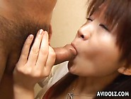 Cute Young Japanese Girl Sucks Dick Passionately