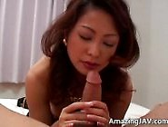 Bigtitted Gaesha Nymph Sucking Cock
