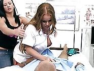 Blonde Latina Nurse Nikki Delano Gets Fucked Hard In High Heels