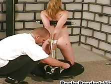 Boobs And Nipples Blonde Chick Tied Tortured