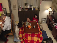 Japanese Old Husband And His Young Wife Fucked By Their Child&ap
