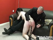 Whipped As She Sucks Cock