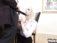 Sexy Blonde Roxy Nicole Get Fucked For A New Job