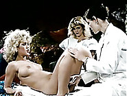 Kinky Gyno Doctor Examines Sweet Pussies Of Two Lusty Lesbian Gi