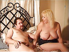 Big Boobs Blonde Receives Atrocious Banging For Her Twat