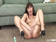 Wild Dana Dearmond Fists Her Pussy And Toys Her Ass