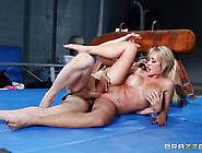 Capri Cavanni ends her workout with some thick dick