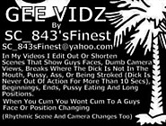 Gee Vidz Pinky Ghetto Booty Edited By Sc 843Sfinest