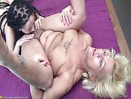 Granny Paulene Aka Orhidea & Alissa Lesbian Piss On Fuck