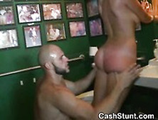 Gangbang money talk slut load
