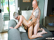 Chubby German Granny Fucks Her Husband During Mature Amateur Tap
