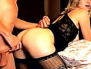 Fine Looking Blondie With A Round Ass Gets Brutally Fucked From
