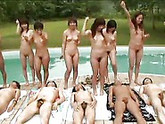 12 Japanese Angels Jerk And Blow Contest (Uncensored)-Daddi