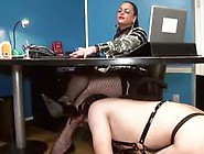 Submissive Slave Getting Whipped And Fucked By Hot Active Shemal