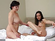 Mature Woman Likes To Make Love With Her Fresh,  Lesbian Neighbor