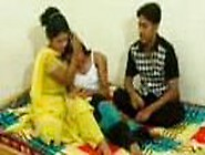 Group Threesome Indian Porn Of Saali Do Hot Chudai With Jiju And