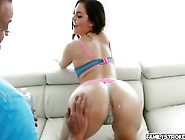 Sweet Chick Brittany Shae Loves A Cock For Her Juicy Pussy
