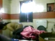 Indian Watched In The Bathroom By A Spy Cam