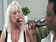 Old Hoochie Judi C Takes Big Black Dick In Her Worn Out Twat