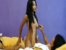 Desi Nepali Young Girl Hot Riding Erotically