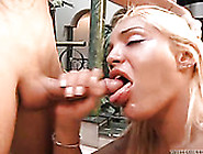 Shemale Street Hooker Gives Great Blowjob To Her Client