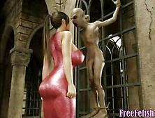 3D Alien Revenge - Freefetishtv. Com