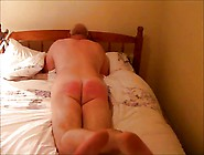 70 Stroke Caning For Nude Husband