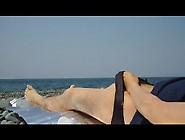Guy Wanks Me On The Beach